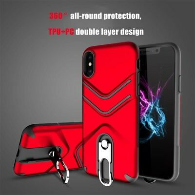 Hybrid Armor Shockproof Rugged Bumper Case For Apple iPhone 10 X 8 7 Plus 6s