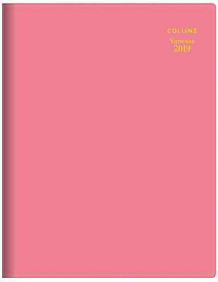 Diary 2019 Collins Vanessa Pink A5 Month to View #585 NEW inc. Post