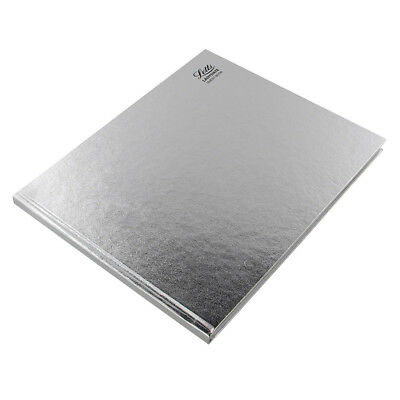 A4 Silver Letts Guest Book Visitor Book Wedding Guest Landscape (Hard Cover)