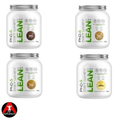 PhD Diet Whey Lean MRP Weight Loss Meal Replacement Protein Shake Powder 770g
