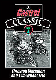 A Castrol Classic- Thruxton Marathon And Two Wheel Trio Dvd -Free Post Uk Sealed