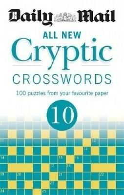 Daily Mail All New Cryptic Crosswords 10 (The Daily Mail Puzzle Books).