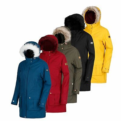 Regatta Sherlyn Womens/Ladies Waterproof Insulated Parka Jacket Up To Size 28