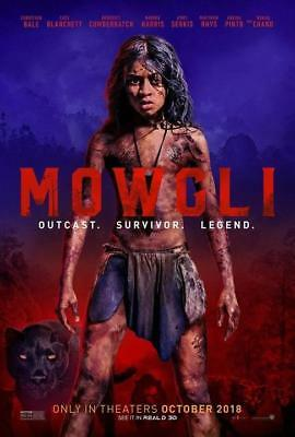 Mowgli 2018 Movie Legend Of The Jungle Art Poster 12x18 24x36inch 371