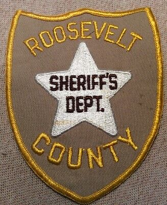 NM Roosevelt County New Mexico Sheriff Patch