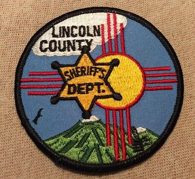 NM Lincoln County New Mexico Sheriff Patch
