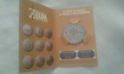Rare The Legend of Zelda Breath of the Wild Collectible Coin