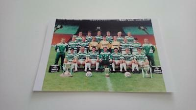 CELTIC FC 1988 CENTENARY SQUAD ROY AITKEN TOMMY BURNS PAUL McSTAY BILLY McNEILL