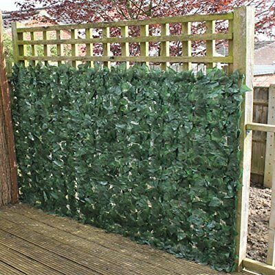True Products Ivy 1 x 3 m Artificial Screening Ivy Leaf Hedge Panels on Roll Pri