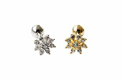 16g Body jewelry cartilage ear studs cute cool earring tragus helix barbell for