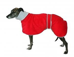 Cosipet Greyhound Polo Coat, 51 cm, Red