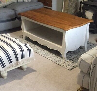 WHITE FRENCH STYLE Coffee Table Bought From Scs Paid Around - White french style coffee table