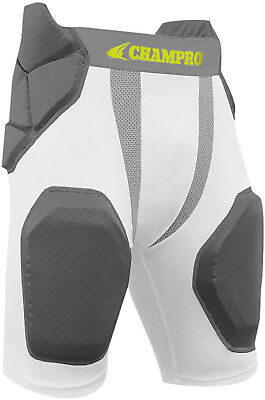 a1fa4617cdf CHAMPRO MAN UP 7-Pad Football Girdle - Youth   Adult Sizes - FREE ...