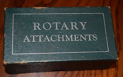 VINTAGE Rotary Attachments for sewing machine GREIST 18 pieces