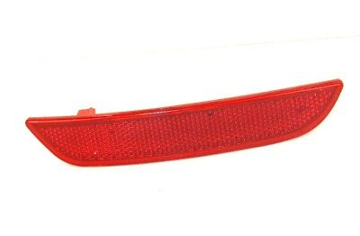 Renault Clio Iv Mk4 2013-On Rear Right Side Red Bumper Reflector Light Lens