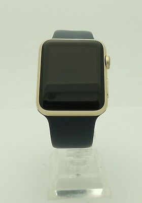 Apple Watch Series 1 7000 MLC72LL/A 42mm Aluminum Gold Case Smartwatch