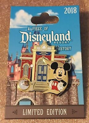 5455115eaea8 Piece of Disneyland History 2018 Pin GUIDED TOURS BUILDING Mickey LE2000