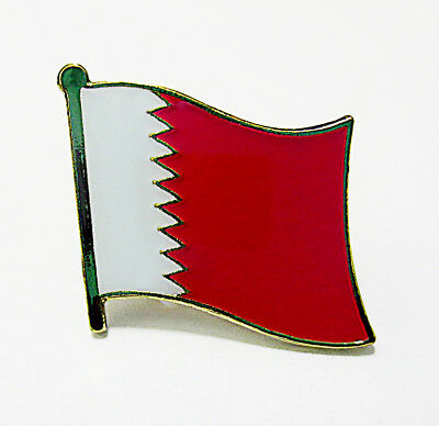 Qatar National Flag Metal Lapel Pin Flag Pin