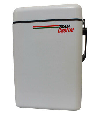 Near New Decor Retro Team Castrol Cooler Genuine 26 x 38 x 15 cm
