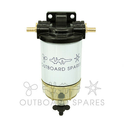 Marine Boat Water Separator Fuel Filter, Bowl & Head Kit Yamaha Mercury Outboard