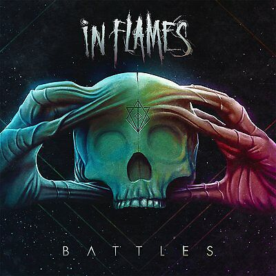 Battles +2 bonus tracks  IN FLAMES CD ( FREE SHIPPING)