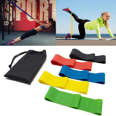 Fitnessbänder 5er-Set/Gymnastikband Fitnessband Rubber Band Latexband 2018 best