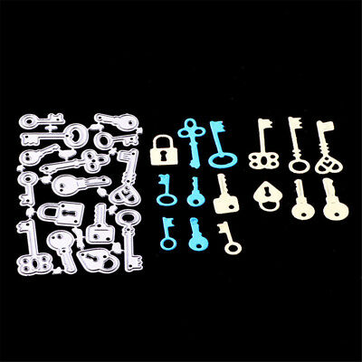 Key and lock styles Metal Cutting Dies For DIY Scrapbooking Card Craft Decor STD