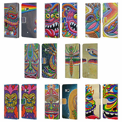 Official Chris Dyer Creature Leather Book Wallet Case Cover For Htc Phones 1