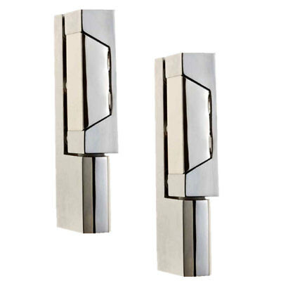 2x Coolroom Door Hinges Reversible Reach-in Edgemount Cam-Lift Heavy Duty Hinge
