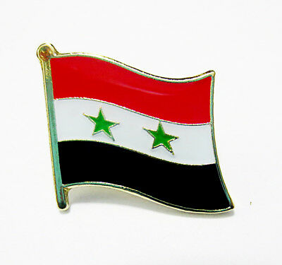 Syria National Flag Metal Lapel Pin Flag Pin