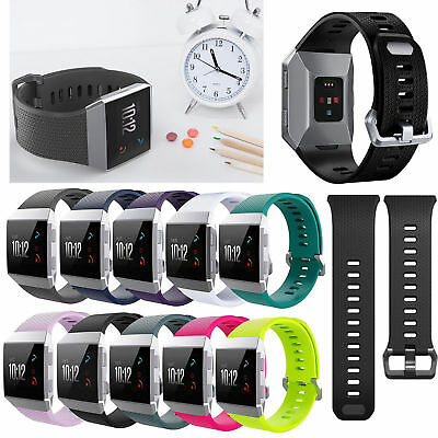 Replacement Breathable Silicone Sport Watch Band Bracelet Strap For Fitbit Ionic