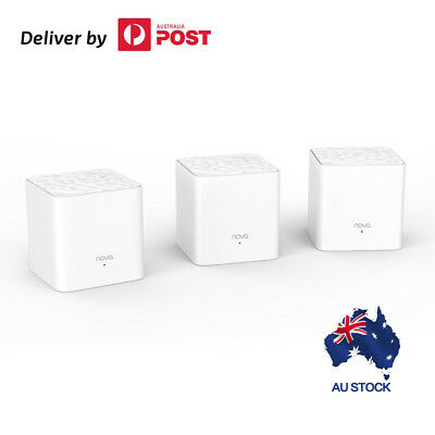 Tenda Nova MW3(3-pack) Whole Home Mesh Router WiFi System manage via Tenda app