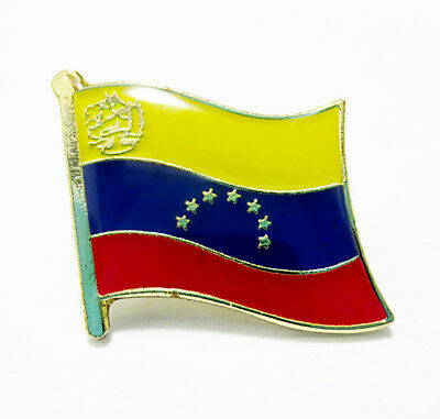 Venezuela National Flag Metal Lapel Pin Flag Pin