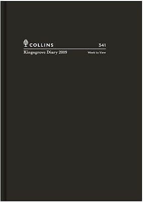Diary 2019 Collins Kingsgrove Black A4 Week to View #341 NEW
