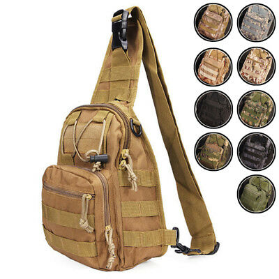 Mens Outdoor Sling Bags Tactical Backpack Travel Crossbody Pack Sports Chest Bag