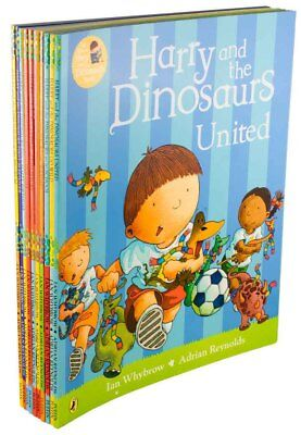 Harry and the Dinosaurs 10 Story Book Collection Ian Whybrow, Harry and the Buck