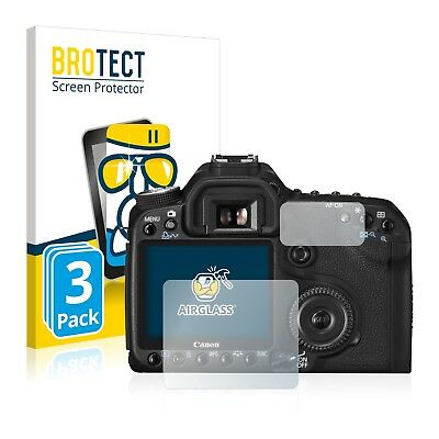 3x Canon EOS 50D Glass Screen Protector Protection Film