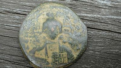 Orig JESUS CHRIST KING OF KINGS Legends Coin of Byzantine Empire 976-1025 AD