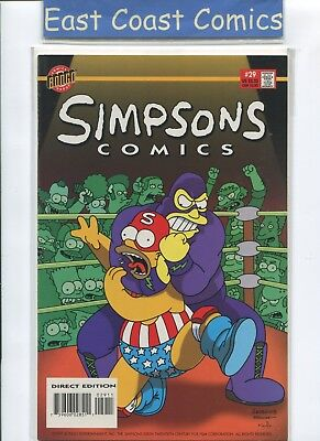 Simpsons Comics #29 - Nm - Bongo Us