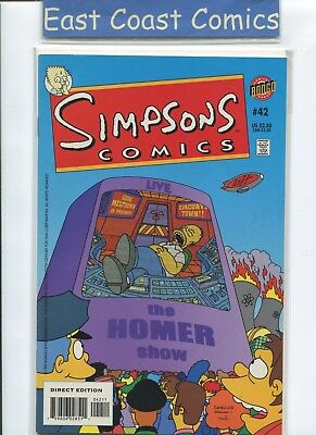 Simpsons Comics #42 - Nm - Bongo Us
