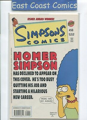 Simpsons Comics #53 - Nm - Bongo Us