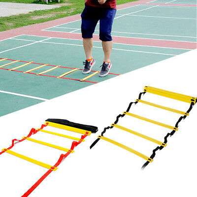 4m Agility Speed Ladder Sport Training Equipment Soccer Football Training Aids