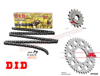 Honda XRV750 Africa Twin (1993 to 2003) DID X-Ring Chain & JT Sprockets Kit Set