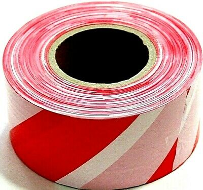 500m PVC Barrier Tape Safety Crowd Control Warning Hazard Health bunting