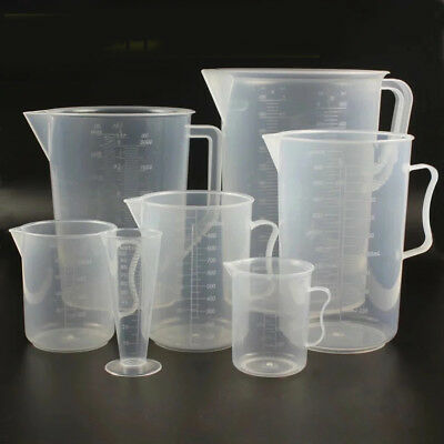 2000ml Plastic Measuring Cup Pitcher Jug Pour Spout Kitchen Tool With Handle New