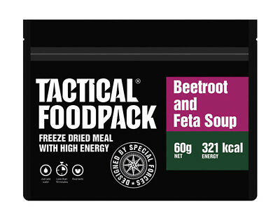 TACTICAL FOODPACK® Beetroot Soup with Feta 2er Pack 120g Rote Beete Suppe