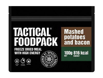 TACTICAL FOODPACK® Mashed Potatoes & Bacon 2er Pack 200g Kartoffelbrei & Speck