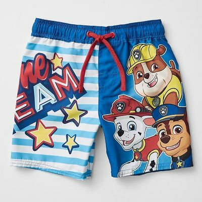 NEW Paw Patrol Print Boardshorts Kids