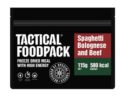 TACTICAL FOODPACK® Spaghetti Bolognese 2er Pack 230g Campingnahrung