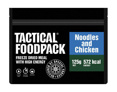 TACTICAL FOODPACK® Noodles and Chicken 2er Pack 250g Nudeln und Hühnchen